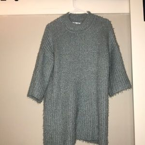 Sweaters - Blue Long Sweater one size fits all!